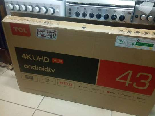 Tcl 43 inches smart 4K tv image 1