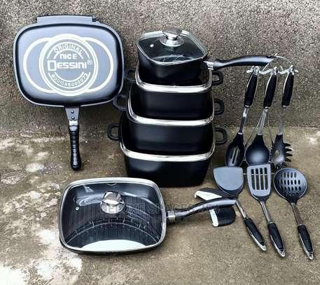 Dessini 21Pcs Imperial Non-Stick Die Cast Cookware Set image 4