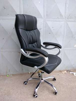 Leather office chair image 1
