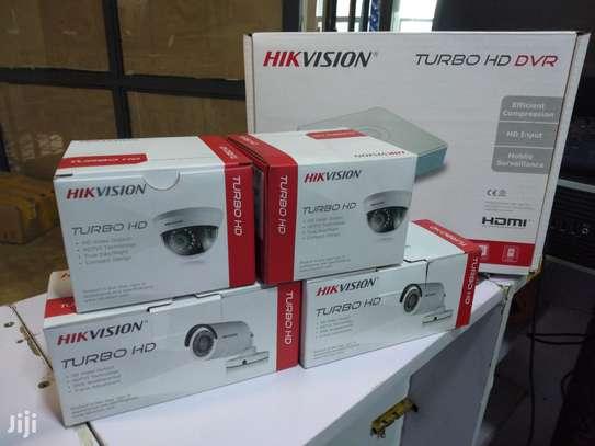 Installation Set Of Four CCTV Camera image 1
