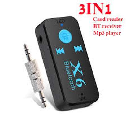 X6 Car Bluetooth Music Receiver MP3 Player image 2