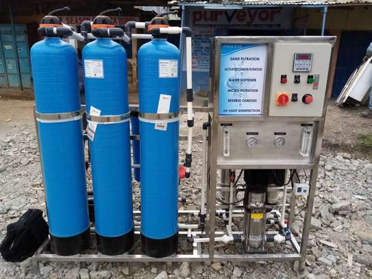 REVERSE OSMOSIS PURIFICATION SYSTEM image 1