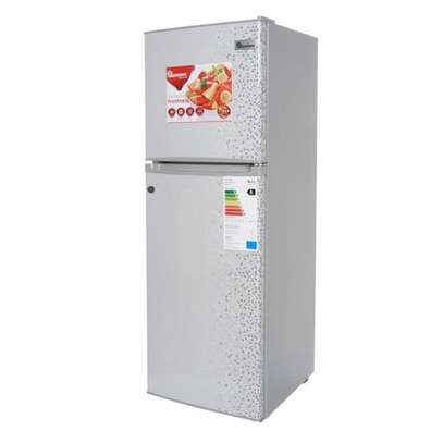RAMTONS RF/77-2 DOOR DIRECT COOL FRIDGE- 128LTRS, TITAN STEEL image 1