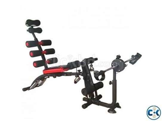 Six Pack Bench with Cycle