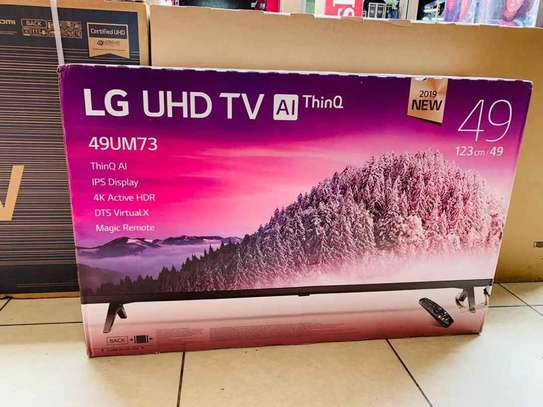 49 inches Lg smart UHD 2019 MODEL