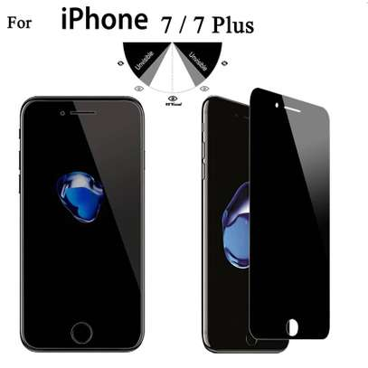 5D Full Glue Anti-spy Privacy Screen Protector For iPhone 7/7 Plus image 2
