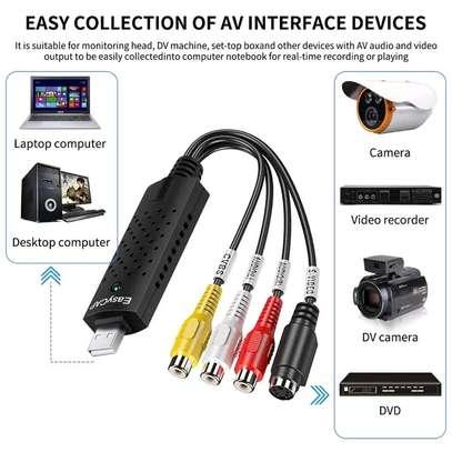 USB 2.0 Easy Cap Video VHS TV DVD DVR Video Capture Adapter image 5