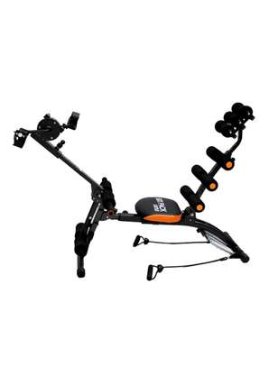 Six Pack Care ABS Fitness Machine with Pedals image 1