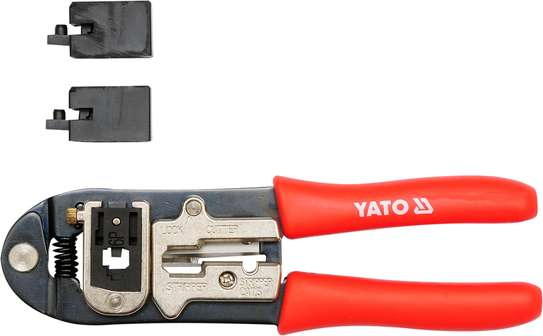 YATO Ratchet Crimping Pliers image 1