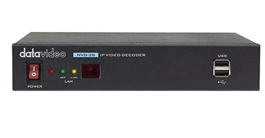 Datavideo NVD-35 IP Video Decoder with HD-SDI Output image 1
