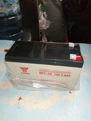 7ah 12V rechargable Yuasa batteries