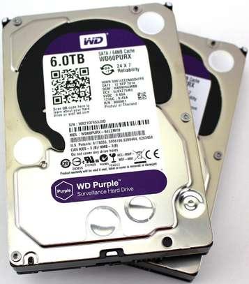 WD Purple 6TB Surveillance Hard Drive