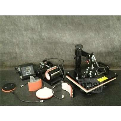 6 in 1 and 8 in 1 Combo Heat Press Machine on sale . image 1