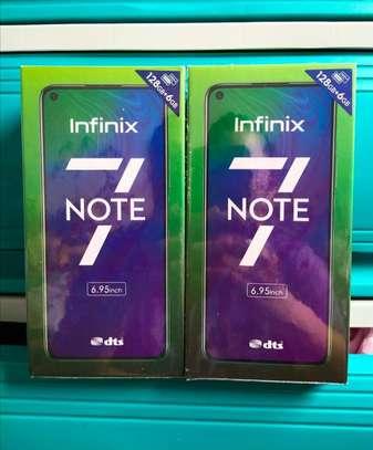 "Infinix NOTE 7 -6.95"",6GB RAM+128GB (Dual SIM),48MP,Black+BACK image 1"