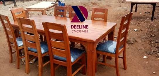 8 Seater Mahogany Dining Table Sets. image 3