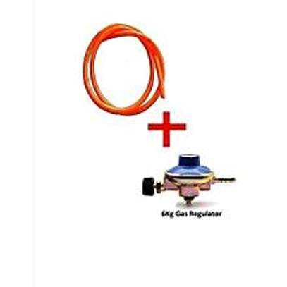 6kg gas regulator with 2m pipe image 1