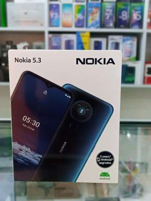 Nokia 5.3 brand new and sealed in a shop image 1