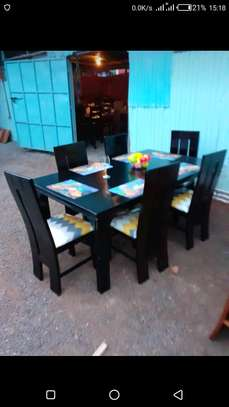 6seater dining table image 2