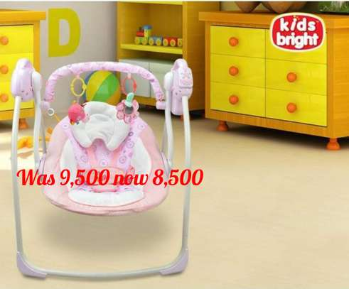 Electric baby swing chair baby rocking chair