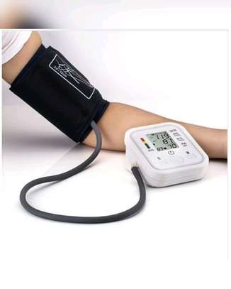 Arm Blood Pressure Upper Arm Fully Automatic Monitor Heart Beat Meter image 1