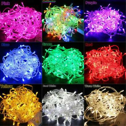 Perfect for Patio, Garden, Yard, Porch, Roof, Fence,  10 meters fairy lights image 1