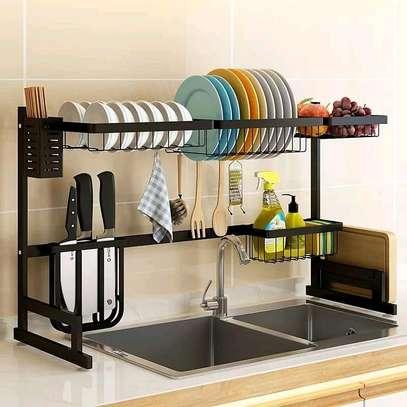 Over the Sink Utensils Rack/Drainer image 1