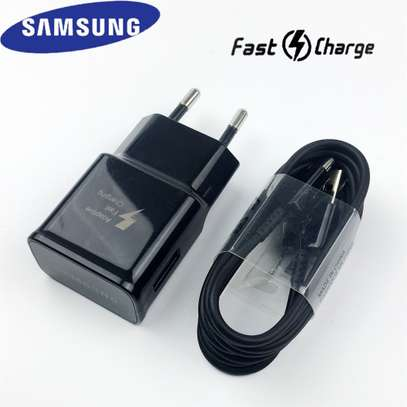 Samsung Adaptive Fast Charger Adapter+Type-c Cable For Note 9 8 S9 S8+ image 6