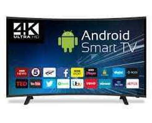 55 Inch Skyview Smart UHD 4K Android Curved Led TV image 1