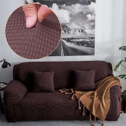 chocolate brown sofa covers image 1