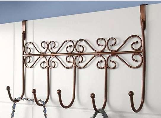 Over the Door Hanger 5 Hooks image 1