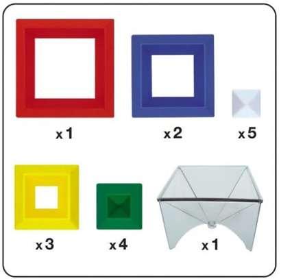 Junior Set 15 Pc Building Block Set Educational Toy image 3