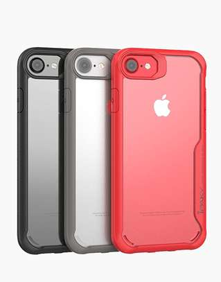IPAKY Hybrid Shockproof Transparent Case for iPhone  6+ 6S Plus image 5