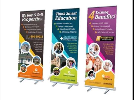 Complete roll up banners