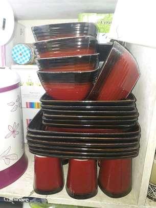 Ceramic dinner set/dinner set. image 2