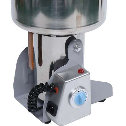Commercial Electric Herb Grain Grinder Cereal Powder Flour Mill Grinding Machine image 3
