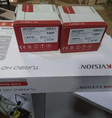 Two 2 CCTV camera Complete cameras sale and installation image 1
