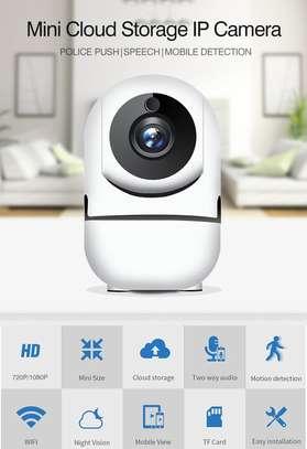 Nanny camera -Cloud Storage Intelligent IP Camera- White image 1
