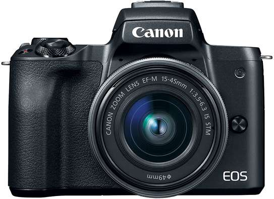 Canon EOS M50 Mirrorless Vlogging Camera Kit with EF-M 15-45mm lens image 3