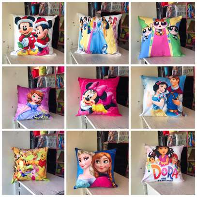 Cartoon Themed Throw Away Pillow Covers image 2
