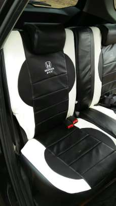Designer's lounge car seat covers