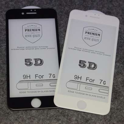 5D Full Coverage Tempered Glass Screen Protector for iPhone 8 and iPhone 8 Plus image 1