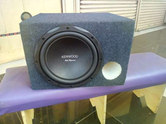 KENWOOD KFC-HQR3000 HQ REFERENCE SUBWOOFER 1500w Plus Bass Box CABINET image 1