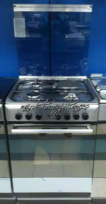 Ariston CX61SN1(X)(EX S)/A6MSH2F (X) 3 Gas & 1 Electric Cooker Stainless steel image 1