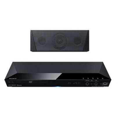 Sony 1000W Home Theater System,5.1 Channel,3D Blu-ray Disc,Built-In Wi-Fi,Youtube,BDV-E3100 - Black image 1