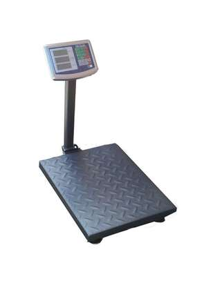 300kg electronic scale commercial 100KG electronic weighing platform scale meter sgies weighing scale home scale image 1
