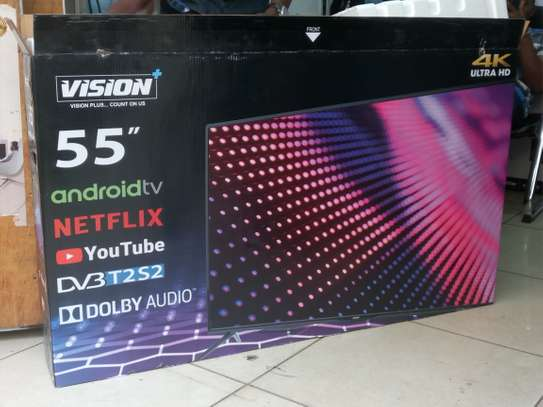 Vision 55inches smart 4k uhd tv