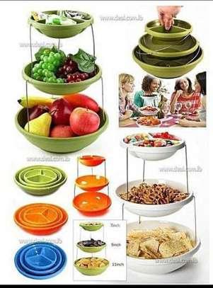 Adjustable fruit basket image 1