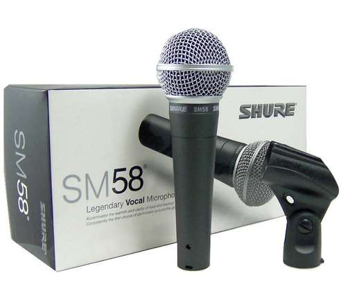 Wired Microphone - Shure SM 58 image 1