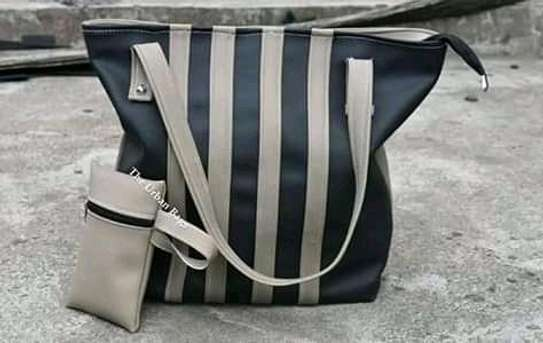 Ladies handbag( black&grey) image 1
