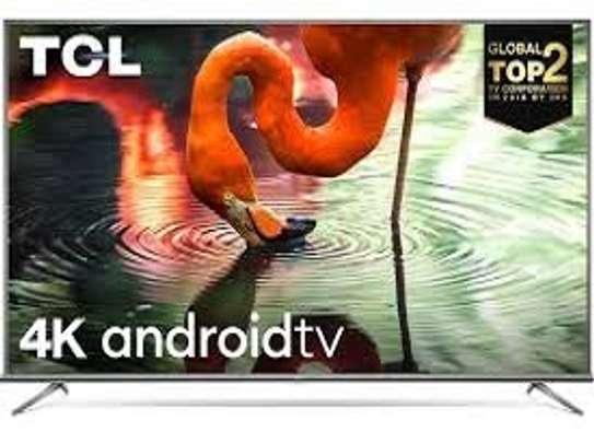 "TCL 65"" 4K UHD ANDROID TV,VOICE CONTROL,WI-FI,NETFLIX,GOOGLE PLAYSTORE,CHROMECAST-65P617-BLACK image 1"